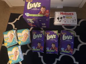 Size 1 diapers for Sale in Etna, OH