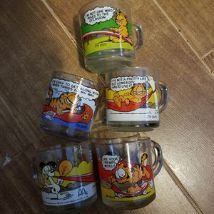Collectible McDonald's Garfield glasses for Sale in Ruskin, FL