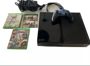 Xbox one and 4 games for Sale in Weirton, WV