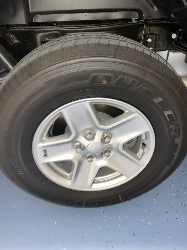 Jeep Gladiator wheels and tires new!!