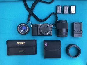 Sony a6000 Mirrorless Camera Sigma lens Bundle for Sale in Lorton, VA