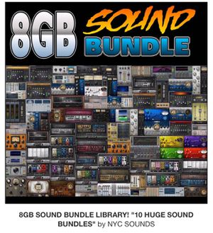 8 GIG Synth+Drum Sound Bundle! (Instant Download) for Sale in New York, NY