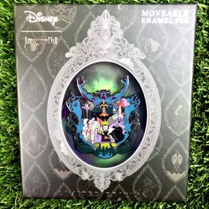 Loungefly LIMITED EDITION Moveable Disney Villains Enamel Pin - Only 1500 Made for Sale in Los Angeles, CA