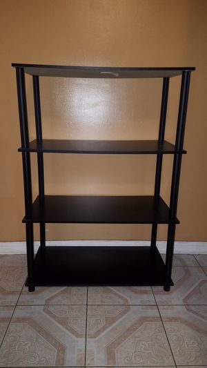 Shelf shelves bookshelf book storage 42.5 tall x 29.5 wide x 15.5 deep for Sale in Jacksonville, FL