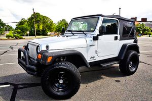 ONLY $1200 2003 Jeep Wrangler Clear CarFax for Sale in Norfolk, VA