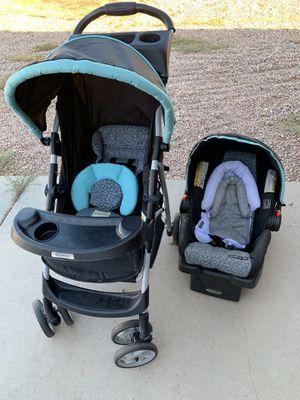 Car seat/ stroller set for Sale in Apache Junction, AZ