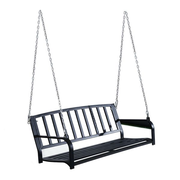 Outdoor Hanging Swing Chair For Garden Deck Yard Patio Porch Furniture