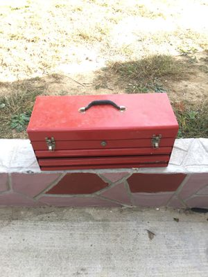 Red tool box for Sale in Springfield, VA