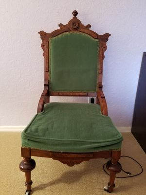 Antique chair. Needs new seat cushion. for Sale in Tumwater, WA