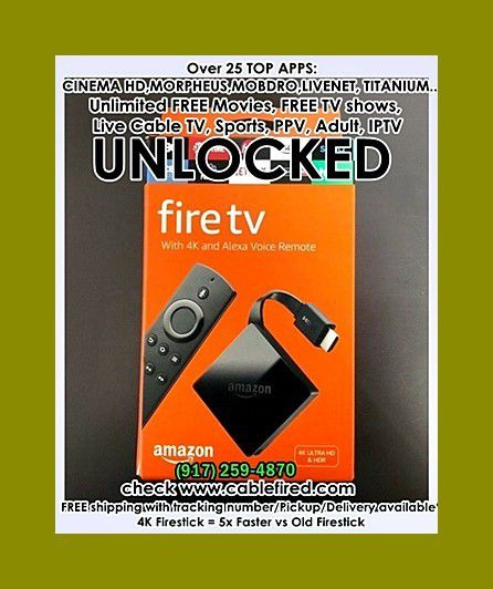brand new fire TV stick 4k new generation