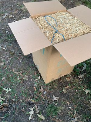 Large box of Hay great for Holloween for Sale in Newport News, VA