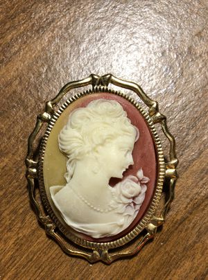 Handmade Cameo Brooch for Sale in Parkville, MD