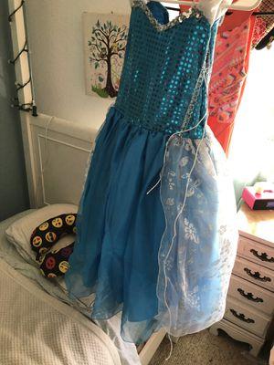 Princess Elsa dress. Beautiful for Sale in Fontana, CA