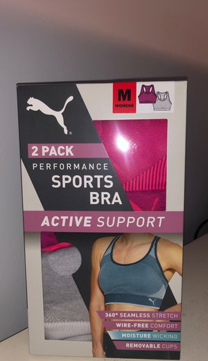 New Puma sports bras for Sale in Bakersfield, CA