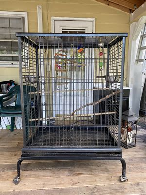 Huge 4 Foot Bird Cage! for Sale in Cary, NC