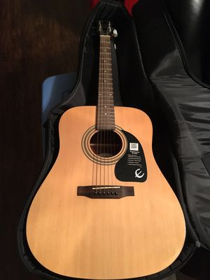 Epiphone Acoustic Guitar & Gig Bag for Sale in Miami, FL