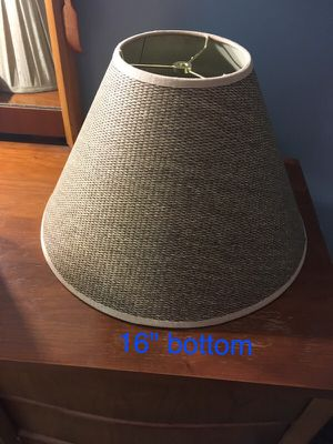 Textured large lamp shade for Sale in Gaithersburg, MD