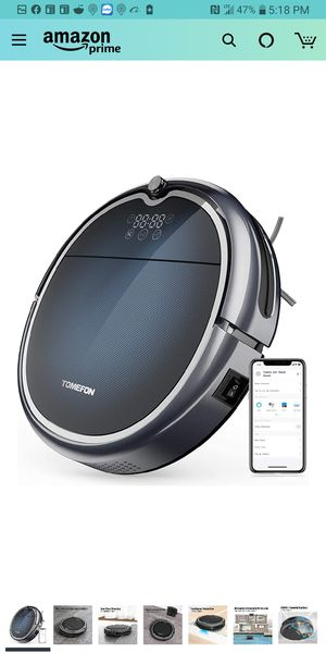 TOMEFON ROBOTIC WIFI VACUUM CLEANER for Sale in Kansas City, MO