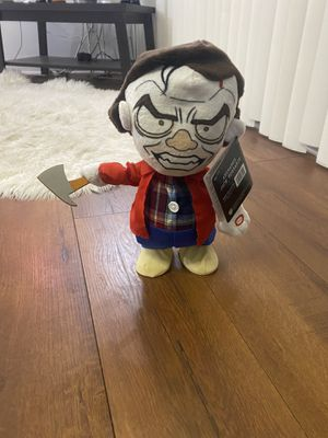 Animated Jack! Jack Torrance from the shining 13 inch walking talking plush doll for Sale in Rolling Hills Estates, CA