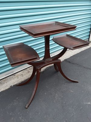 Early Mid Century 3 tier Side Table for Sale in Oregon City, OR
