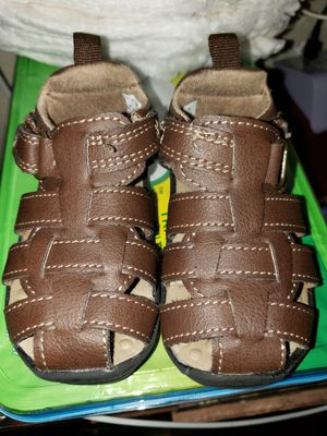 Baby carters sandals size 2 for Sale in Los Angeles, CA