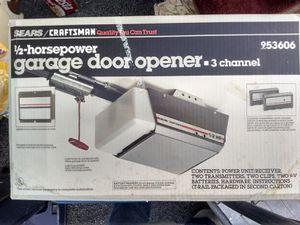 Craftsman Garage Door Opener for Sale in Nashville, TN