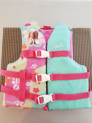 Barbie Child's Life Vest, Preserver, Life Jacket for Sale in Fairfax Station, VA
