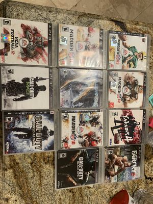 Xbox and ps3 games for Sale in Arlington, TX