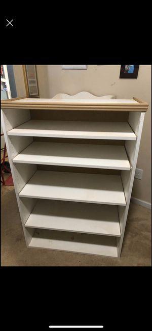 White bookshelf for Sale in Kathleen, GA