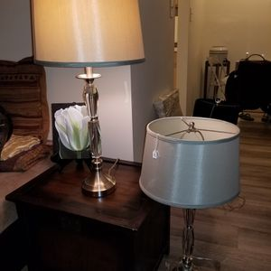Acrylic/ Lucite Lamps for Sale in Red Bank, NJ
