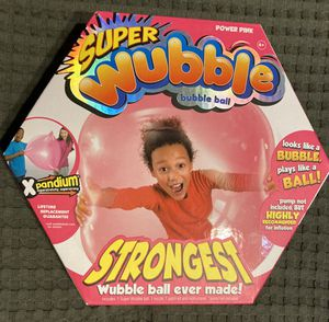 New! Awesome Super Wubble Bubble Ball, Look 👀 pictures for details $10.00 for Sale in Azusa, CA
