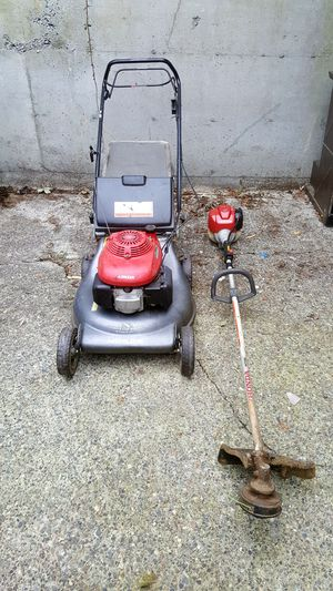 Honda Lawn Mower and Honda Straight Shaft Trimmer for Sale in Seattle, WA