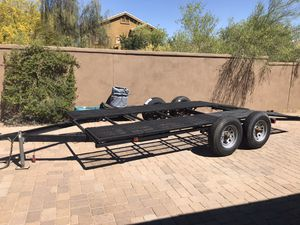 20' Dual Axle Trailer for Sale in Tempe, AZ