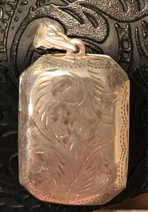 Antique Sterling Silver Locket for Sale in Springfield, VA