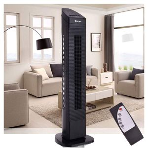 Oscillating Tower Fan Remote Rotating Tall Cooling Home Living Room Bedroom Adjustable for Sale in Chicago, IL