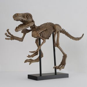 Dinosaur Skeleton T-Rex with Black Iron Stand for Sale in Sterlington, LA