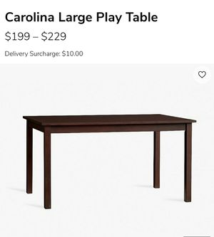 Pottery Barn Carolina Kids Play table and four Chairs for Sale in Columbia, MD