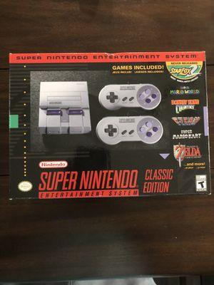Mini Super Nintendo NEW UNOPENED for Sale in Gainesville, VA