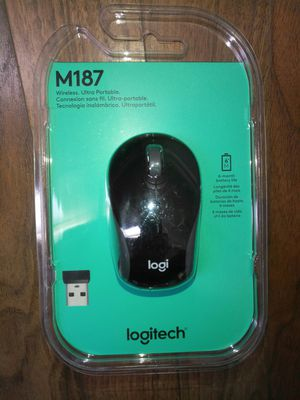 Logitech M187 Mini Wireless Mouse Black New for Sale in Las Vegas, NV