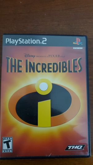 The Incredibles for Playstation 2 Ps2 Complete in box for Sale in Lilburn, GA
