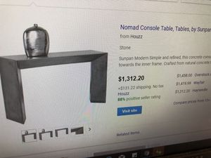 Nomad Console Table for Sale in Austin, TX