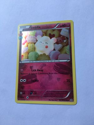 Swirlix RC19/RC32 Generations HOLO Pokemon Card for Sale in Avondale, AZ