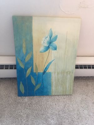 Flower painting for Sale in Cleveland, OH