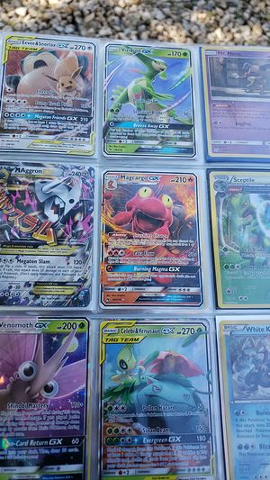Lot of 9 holographic holo full art go ex pokemon cards for Sale in Queen Creek, AZ