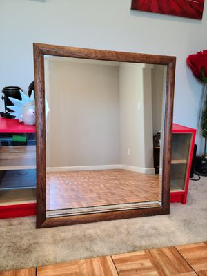 """Wall mirror. Approx 36"""" x 30"""" for Sale in Romoland, CA"""