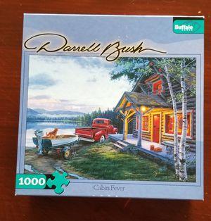 Buffalo Games Darrell Bush Cabin Fever Puzzle 1000 piece for Sale in VLG WELLINGTN, FL