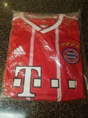 Bayern Munich Addidas 2017-18 Home Soccer Jersey Size MEDIUM BNWT for Sale in Silver Spring, MD
