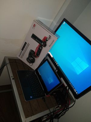 Hp pavilion touchscreen laptop/pad windows 10. Focusrite studio bundle brand new still got box and asus 25 inch monitor . for Sale in Bonita Springs, FL