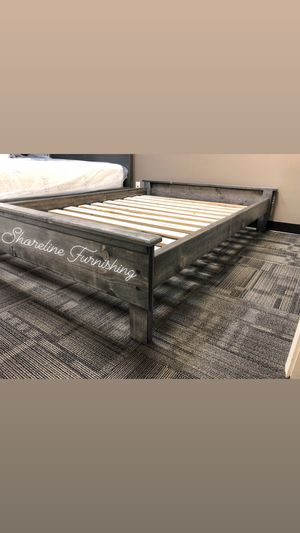 New Full Size Frame and Mattress for Sale in Santa Ana, CA