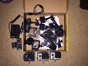 GoPro Hero 3 bundle for Sale in Trout Valley, IL